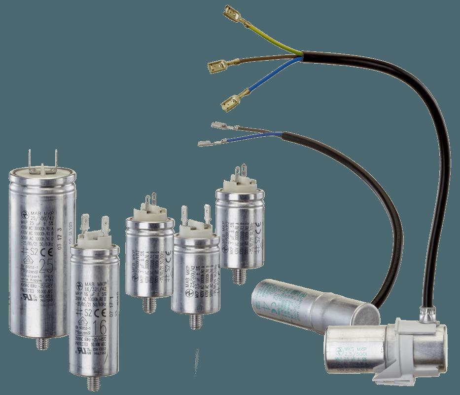 Motor Capacitors | HYDRA a s